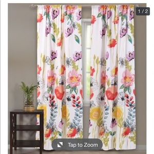 Other - Watercolor dreams curtain set